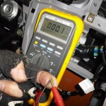 Testing wires when your radio harness has been cut