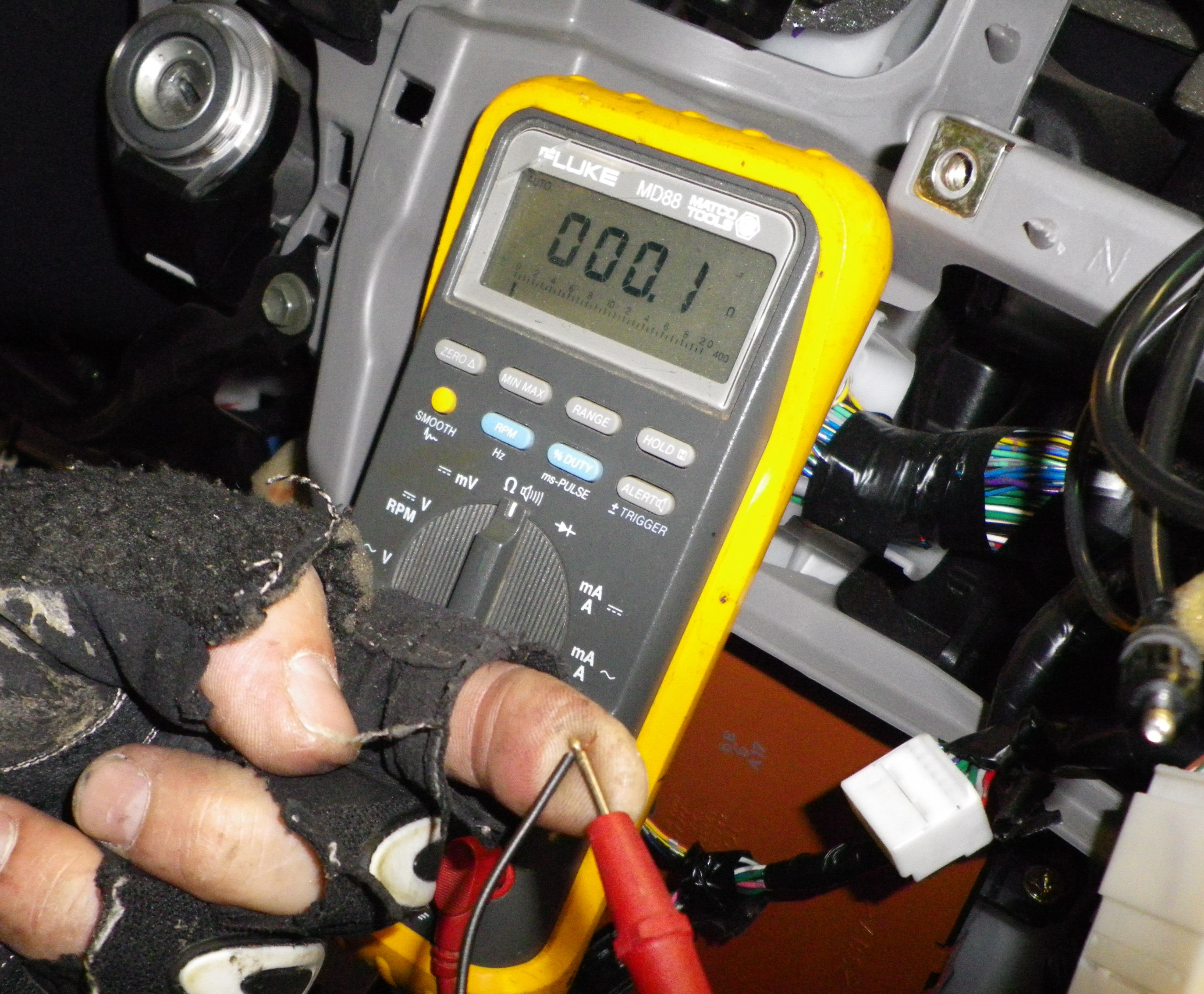 Testing Wires stock stereo harness cut? no problem car stereo reviews & news how to check wiring harness at n-0.co
