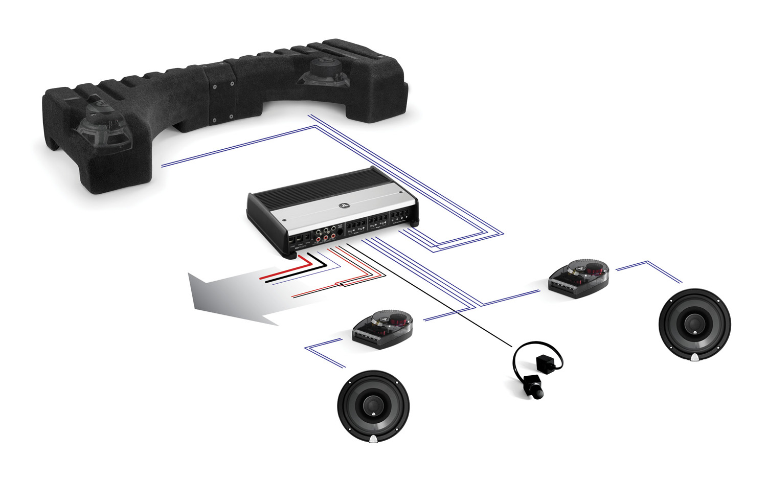 SMS_Diagram jl audio introduces stealthmod for chevy camaro convertible, kia jl audio speaker wiring diagram at nearapp.co