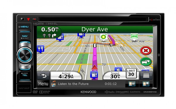Kenwood DNX691HD Car Navigation System