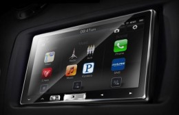 Surely a simulated image of the new Alpine CarPlay head unit the iLX-007