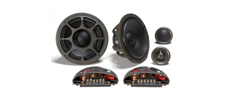 Morel Hybrid series speakers are very smooth, detailed, accurate and warm.  Handling between 100 - 140 watts RMS.