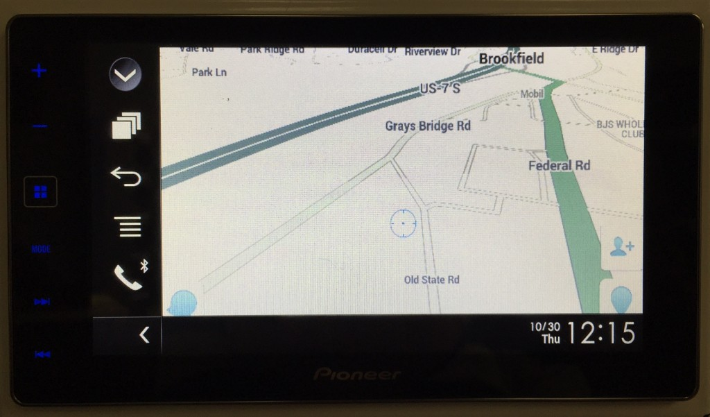 Pioneer AppRadio 4 Review Waze Samsung Galaxy S4