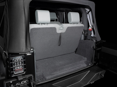 Stealth Subwoofer Enclosure by JL Audio for 2 door model Jeep Wrangler 07 up