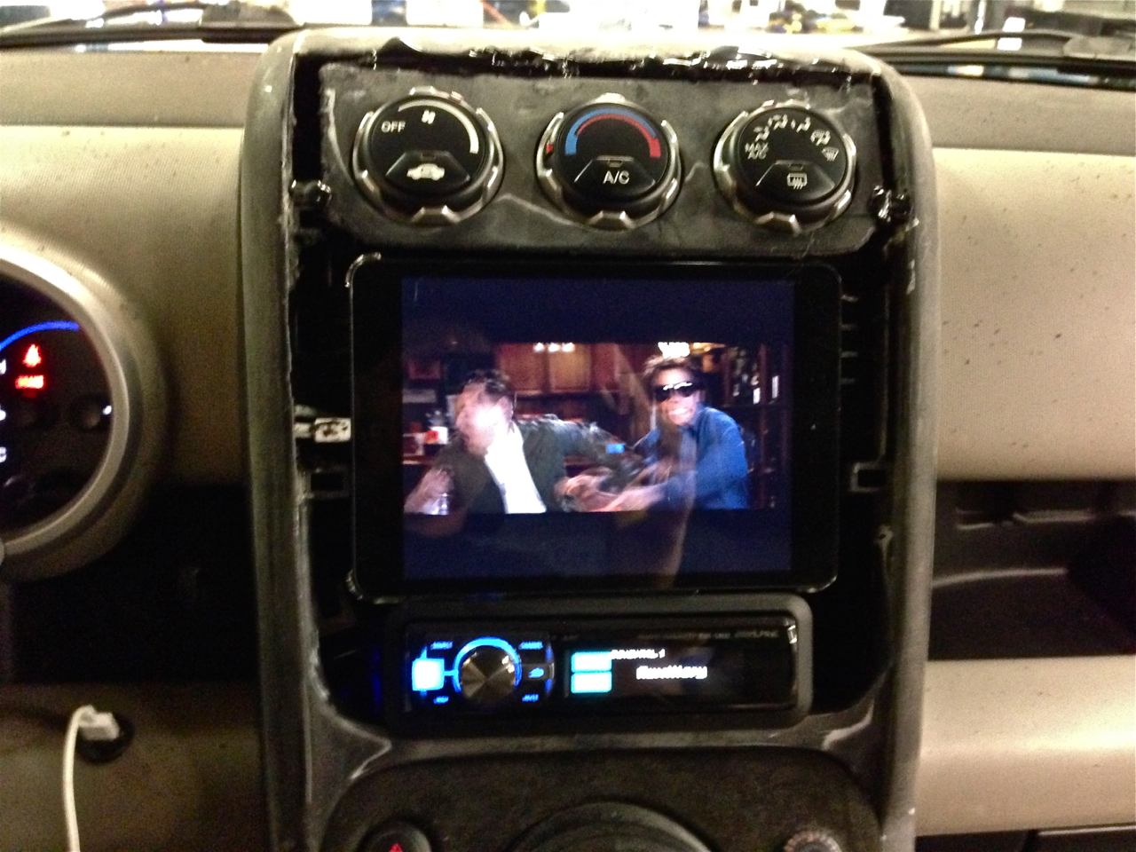 Ipad As A Car Stereo A Steering Wheel Control Solution Is