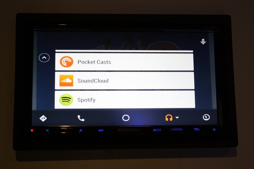 how to connect android to kenwood car stereo