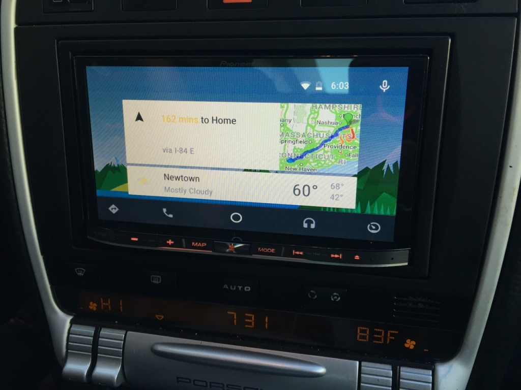 Porsche Cayenne Navigation Upgrade - Android Auto