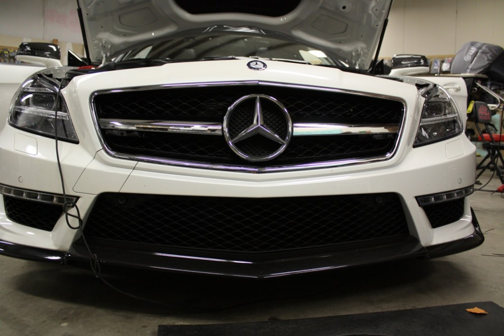 Mercedes CLS AMG Stealth Custom Sub Install and K40 Cluster Interface