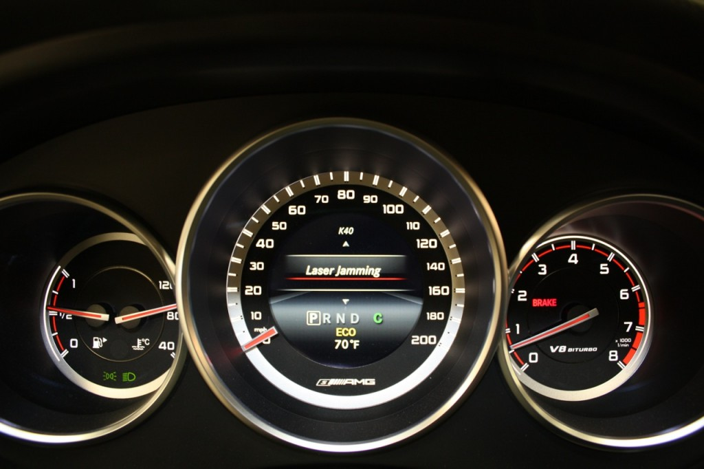 K40 Mercedes Insturment Cluster Interface