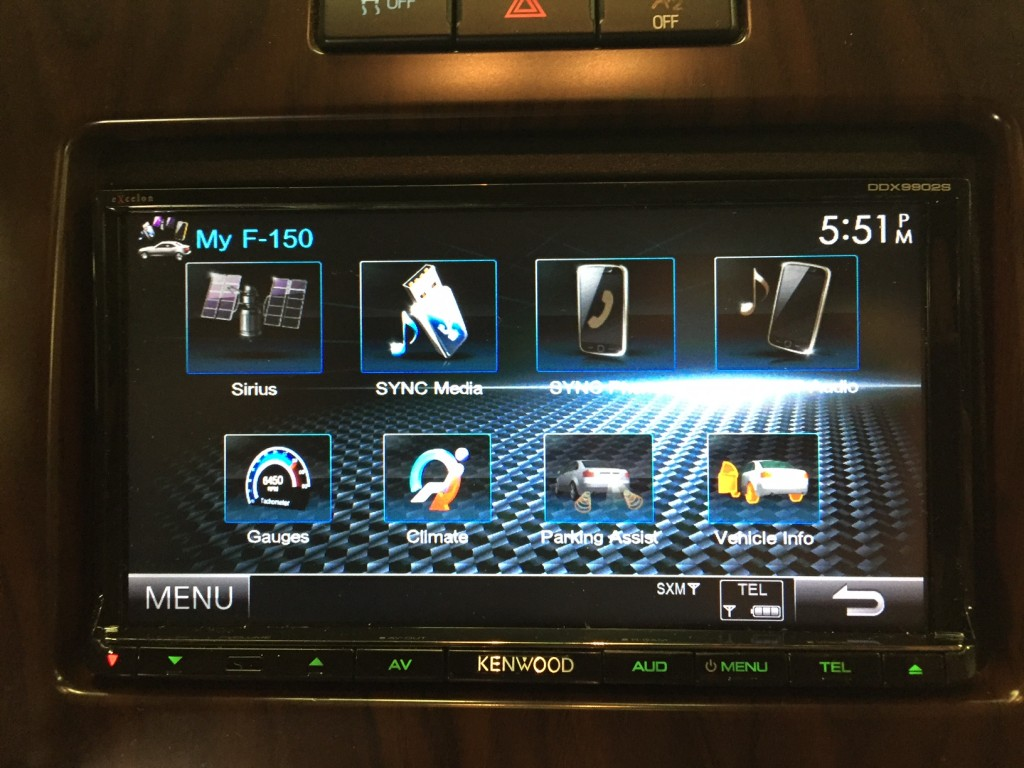 DDX9902s Ford iDatalink Integration Features