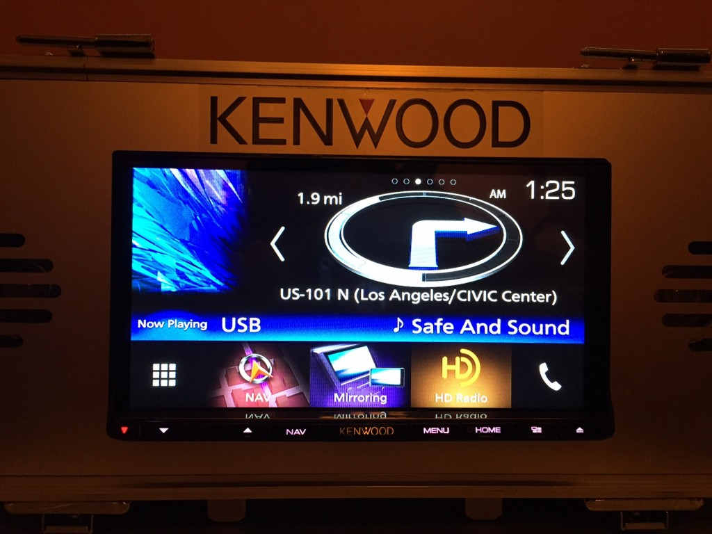 Kenwood DNX893S GPS Widget