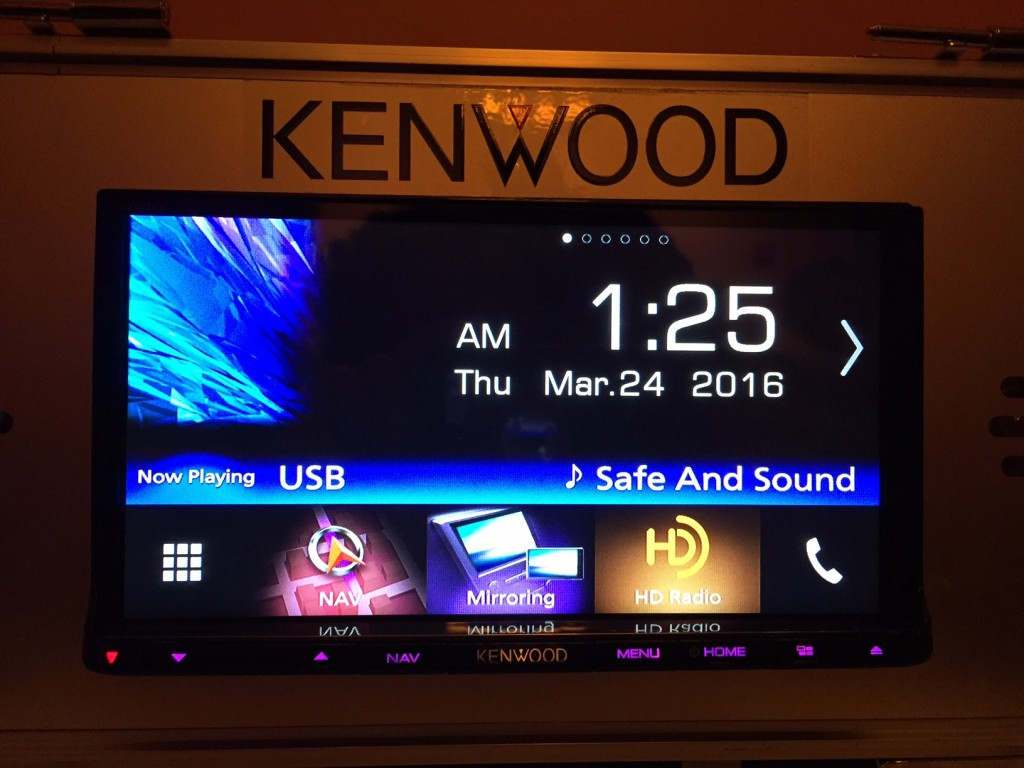 Kenwood DNX893S Clock Widget