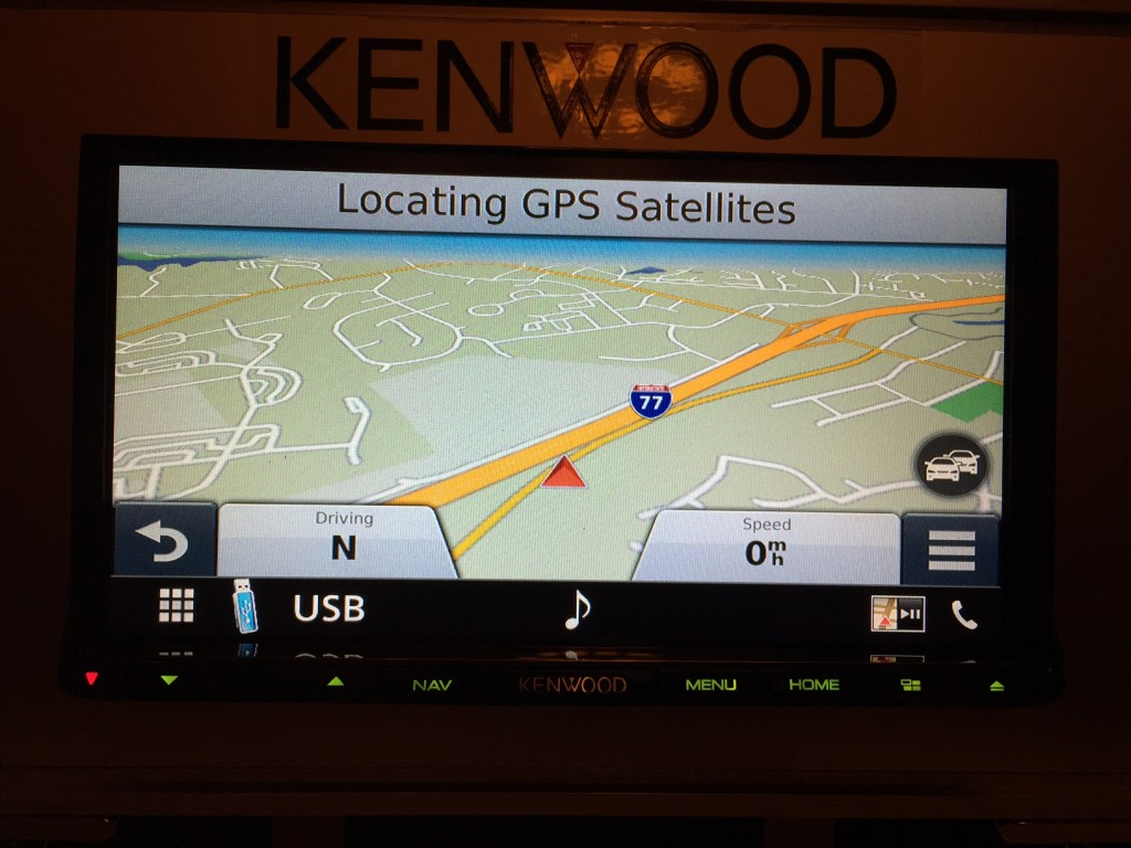Kenwood DNX893S Garmin
