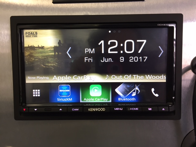 Kenwood DDX9703s Home Screen