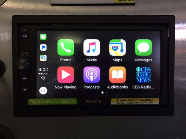 Sony CarPlay XAV-AX100