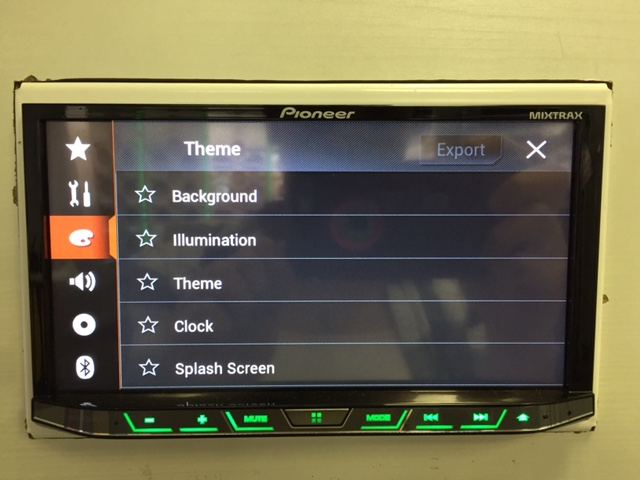 Pioneer AVH-4201NEX Settings Menu - Best CarPlay Head Unit 2018