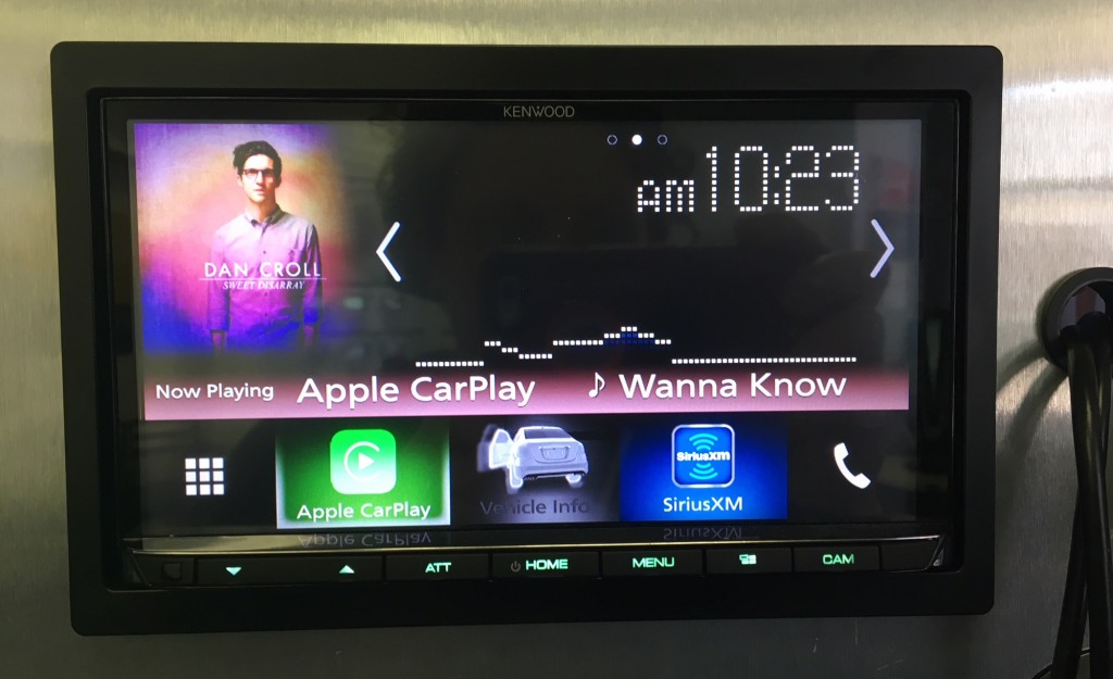 Kenwood DMX7704s 2018 CarPlay