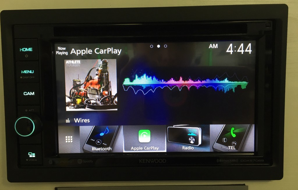 Best Apple CarPlay Stereo 2019 - Kenwood DDX5706S