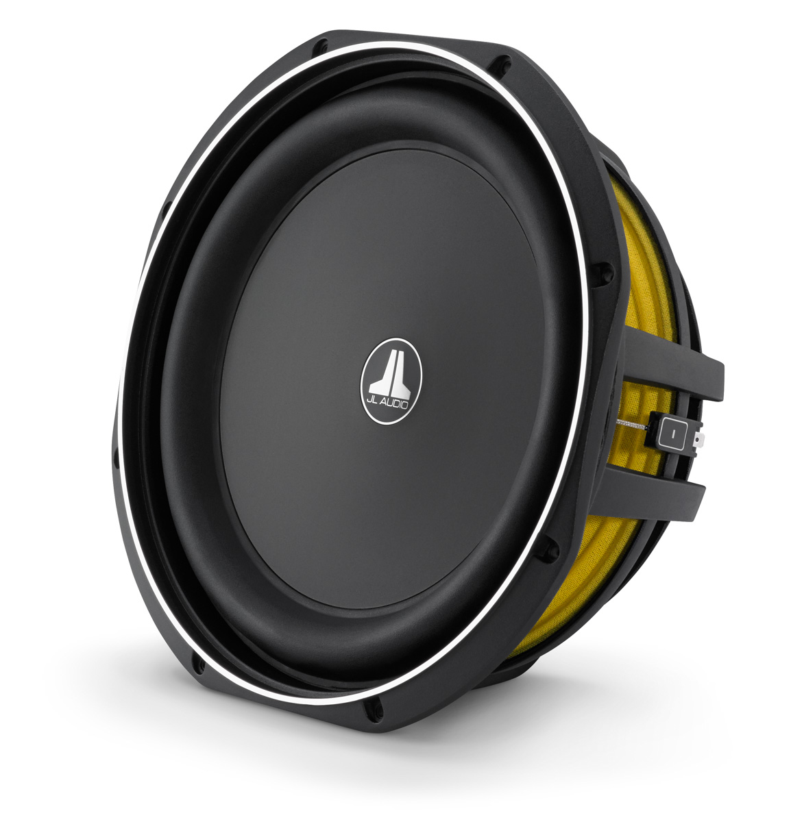 JL Audio's new TW1 subwoofer requires only .35 cubic feet to perform!