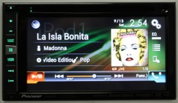 Album Art View iPod AVIC-5000NEX