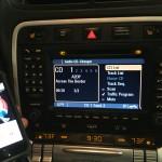 Bluetooth A2DP Porsche Cayenne
