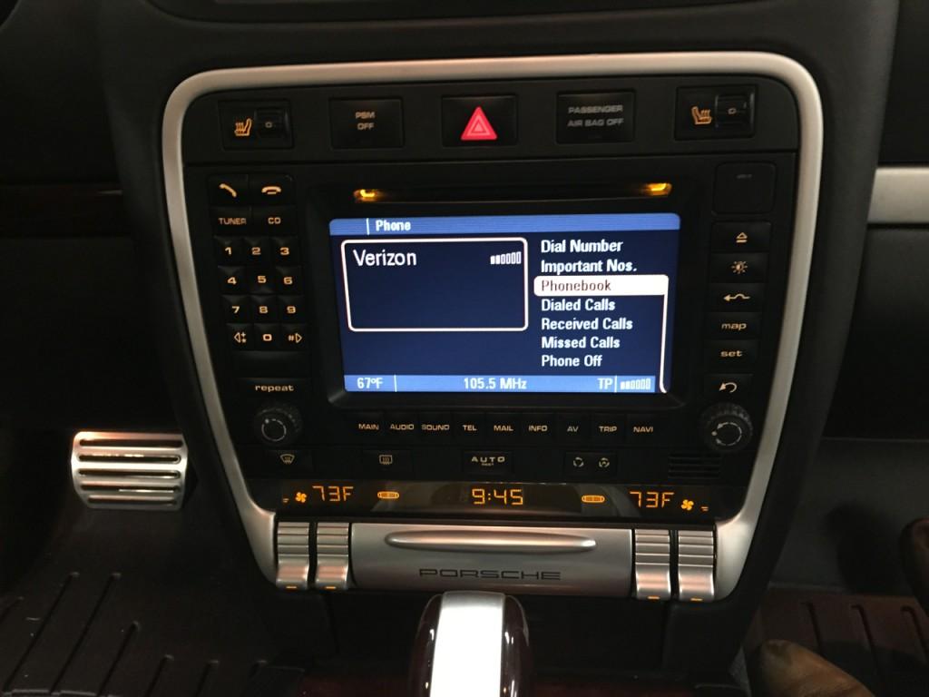 Bluetooth Porsche Cayenne
