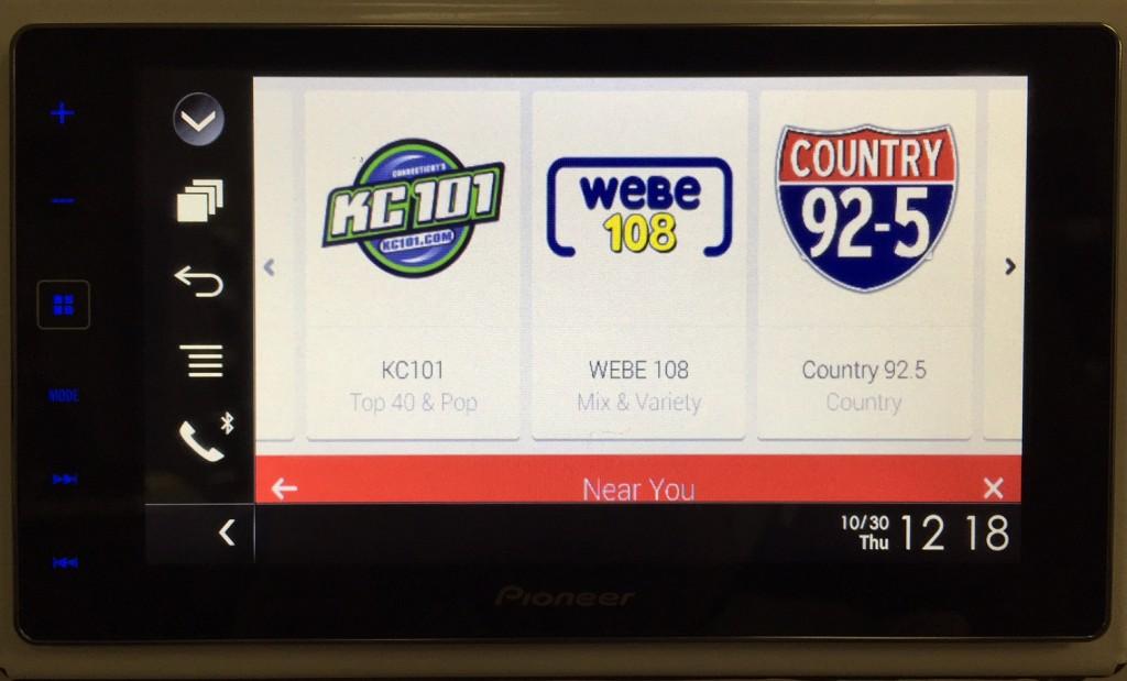 AppRadio 4 Review Samsung S4 iHeart Radio