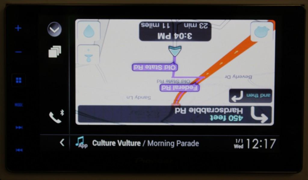 AppRadio4 Review - IOS8 Quirks Waze