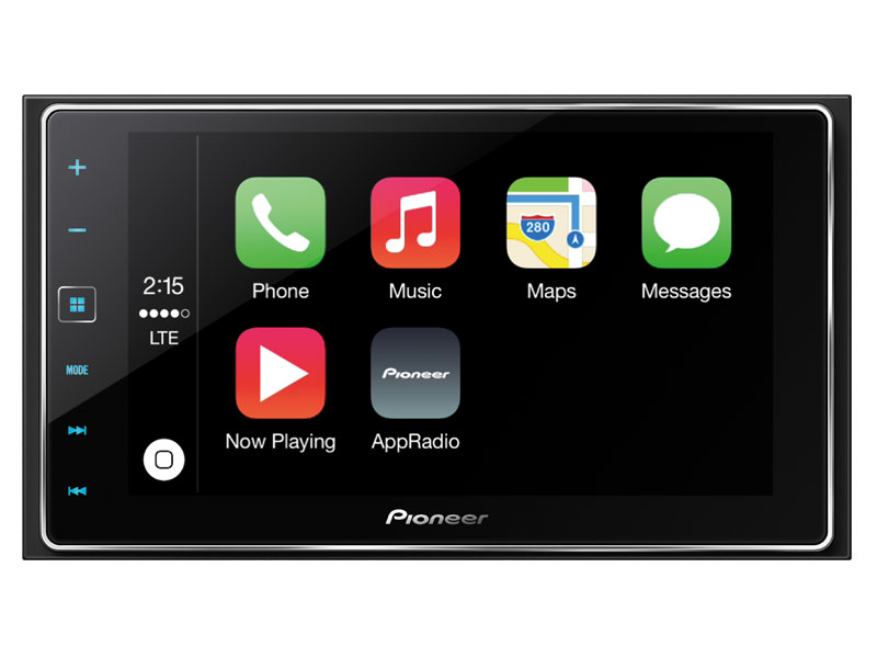 Pioneer announces new carplay appradio 4 car stereo reviews pioneer app radio 4 features carplay three 4 volt preouts 13 band eq and asfbconference2016 Gallery
