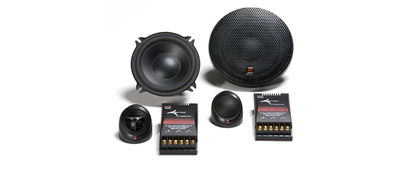 Morel Tempo Series speakers, handle between 110 - 120 watts RMS
