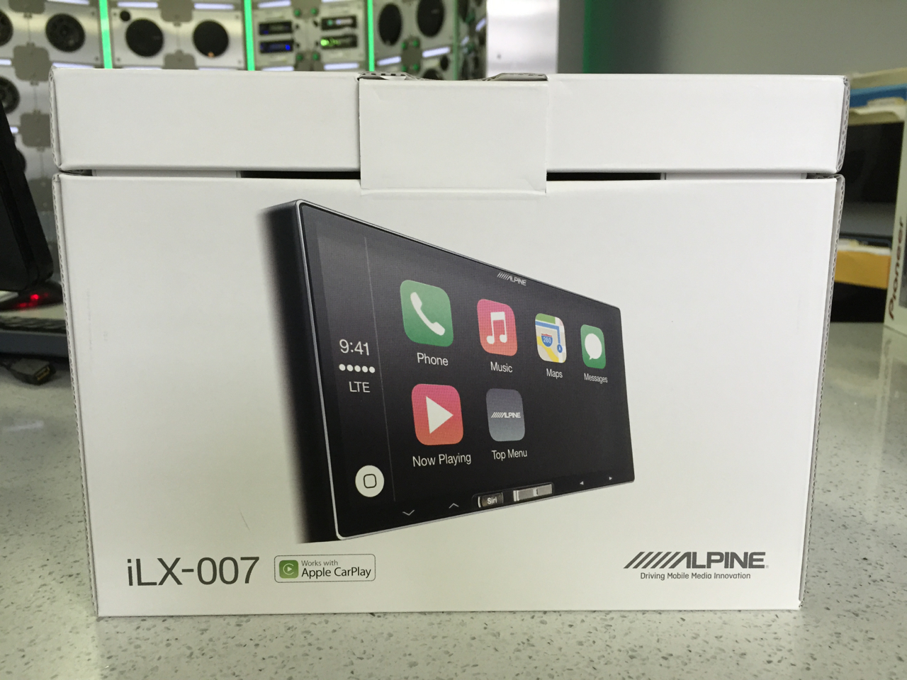 Alpine Ilx 007 Review Car Stereo Reviews News Tuning Wiring Tr7 Diagram The Packaging Is Pretty Sweet