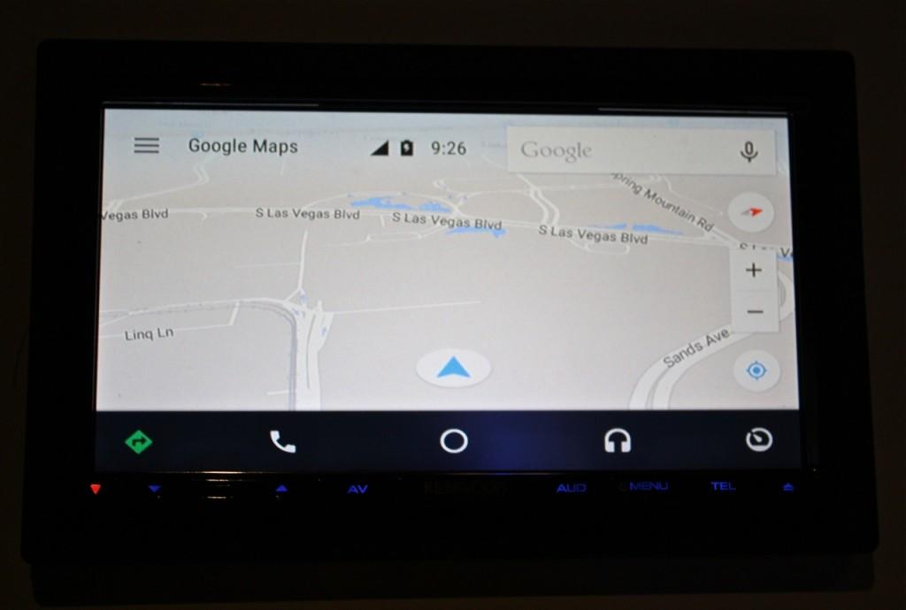 Kenwood DDX9902s - Google Maps