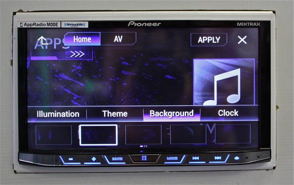 Best Double Din 2015 - Pioneer AVH-4100NEX Display Features