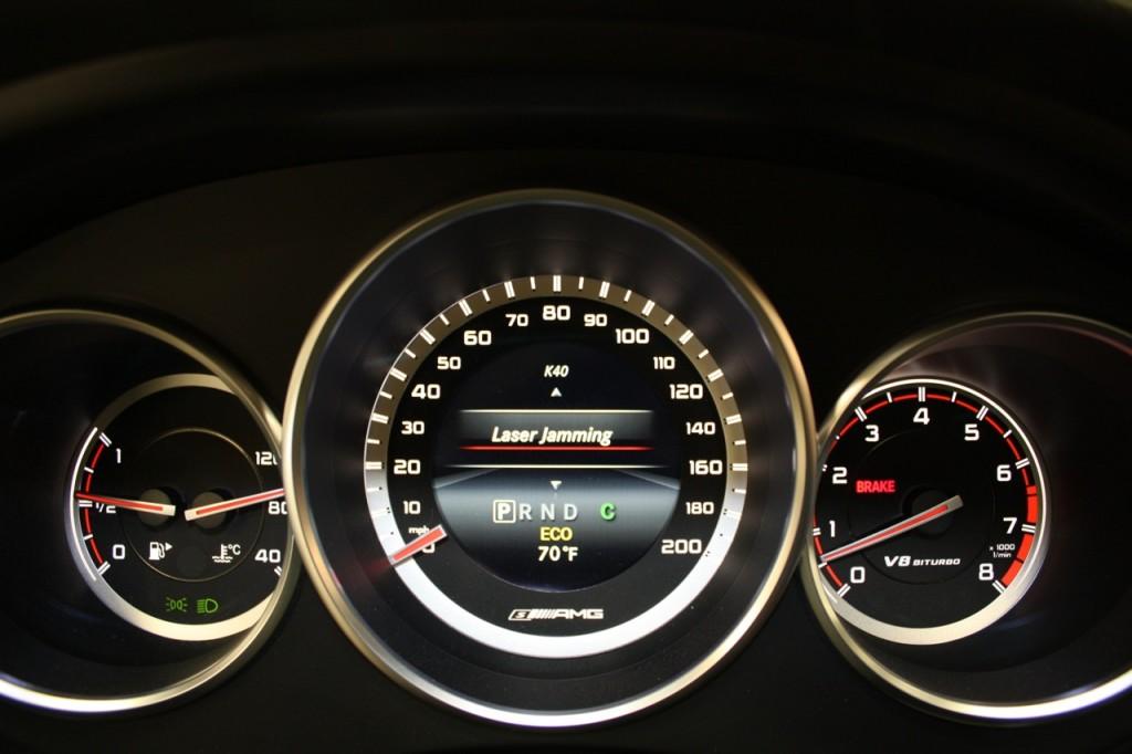 K40 Mercedes Insturment Cluster Interface
