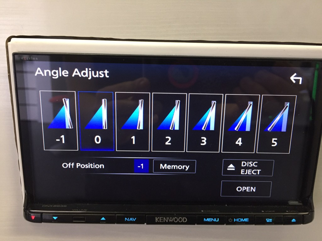 Best Double Din Navigation 2016 - Reverse Tilt Kenwood DNX893s