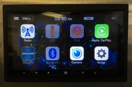 Alpine iLX-W650 Review - Home screen pic