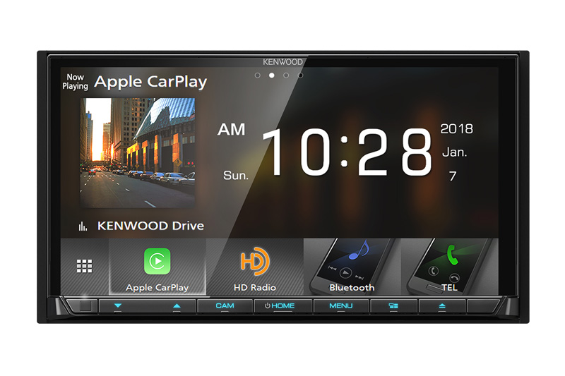 Best Apple CarPlay Stereo 2019 - Kenwood DDX9705s